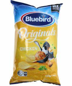 Bluebird Originals Potato Chips Chicken 150G