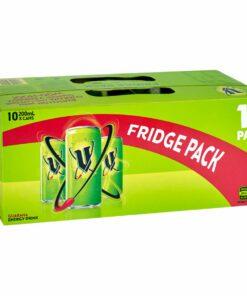 V Green Energy Drink Fridge Pack 10pk 200ml