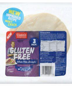 Giannis Pita Bread Gluten Free