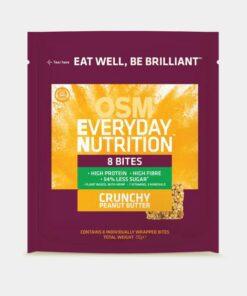 OSM Everyday Nutrition Crunchy Peanut Butter 8 Bites 292g