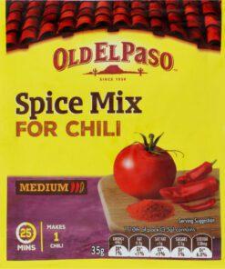 Old El Paso Mexican Chilli Seasoning