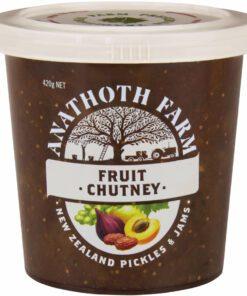 Anathoth Farm Chutney Fruit