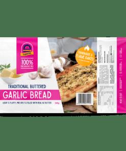Turkish bread buttered garlic bread 345g