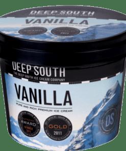 Deep South Ice Cream Vanilla 125ml