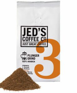 Jeds Coffee Co Plunger Grind No 3