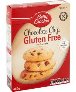 Betty Crocker Gluten Free Chocolate Chip Cookie Mix 485g