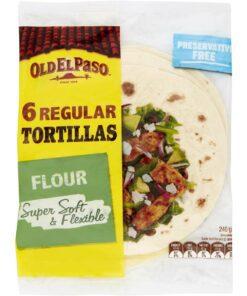 Old El Paso Mexican Tortillas 240G