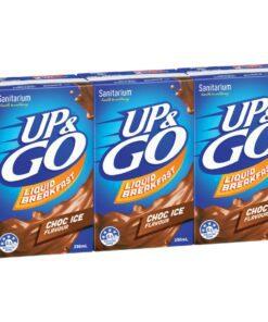 Sanitarium Up & Go Breakfast Drink Choc Ice 3 x 250ml Pack