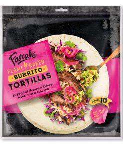 Farrah's Mexican Burrito Tortillas 380g