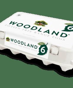 Woodland Free Range Eggs 10pk