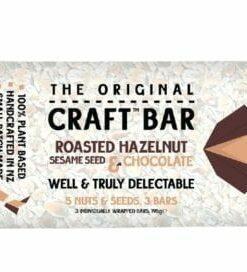 The Original Craft Bar Roasted Hazelnut, Sesame Seed & Chocolate 65g