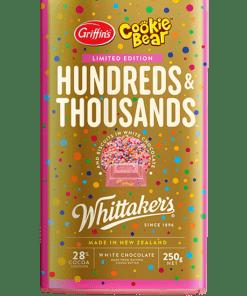 whittakers 100s and 1000s choc block 250g