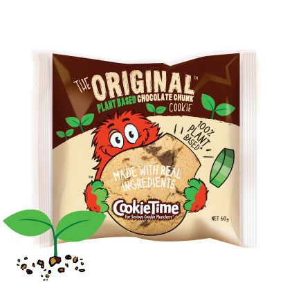 Cookie Time Plant based Chocolate Chunk Cookie – 60g