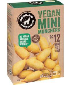 Howler Vegan Hot Dogs Vege Mini Munchers 385G
