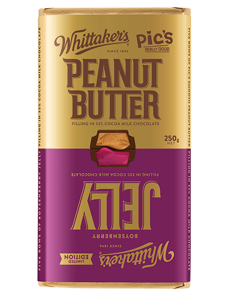 Whittakers Chocolate Block Peanut Butter & Jelly