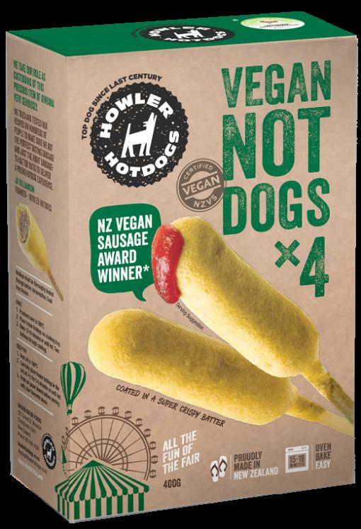 Howler Hotdogs Vegan Not Dogs 400g