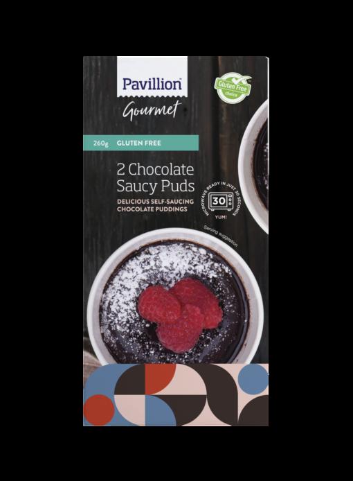 Pavillion Chocolate Saucy Puds 2 x 130g pk