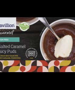 Pavillion Salted Caramel Saucy Puds 2 x 130g pk